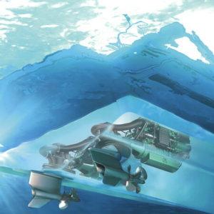 Volvo Penta motor sub apă