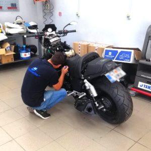 Yamaha service motocicletă